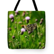 A Painted Lady Tote Bag