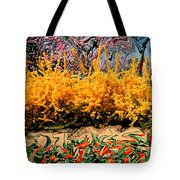 A Painting Springtime 2 Dali-style Tote Bag