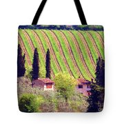 A Painting Tuscan Vineyard Tote Bag