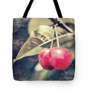 A Pair Of Cherries Tote Bag
