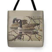 A Pair Of Ducks Tote Bag