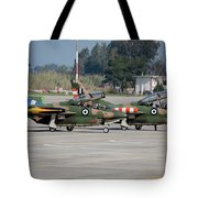 A Pair Of Hellenic Air Force T-2 Tote Bag
