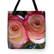 A Pair Of Roses  Tote Bag