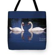 A Pair Of Swans Tote Bag