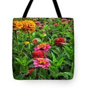 A Pair Of Yellow Zinnias 02 Tote Bag