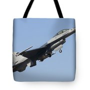 A Pakistan Air Force F-16a Block 15 Tote Bag