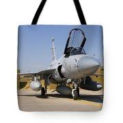 A Pakistan Air Force Jf-17 Thunder Tote Bag