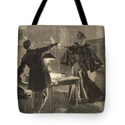 A Parisien Drama, Illustration From Le Tote Bag