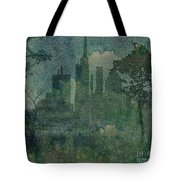 A Park In The City Tote Bag