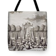 A Parterre With Orange Trees In The Garden Of The Lichtenstein Palace Tote Bag