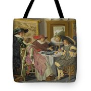 A Party At Table Tote Bag