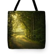 A Path To The Light Tote Bag