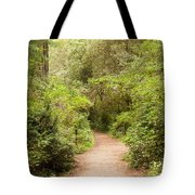 A Path To The Redwoods Tote Bag