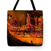 A Pause In Monument Park Tote Bag
