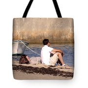 A Peaceful Day At Provincetown  Tote Bag