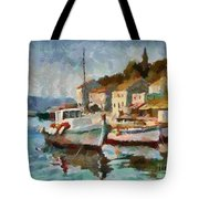 A Peaceful Harbour  Tote Bag