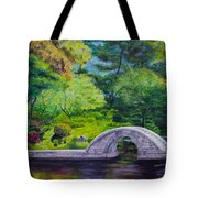 A Peaceful Place In Hiroshima Tote Bag