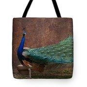 A Peacock Tote Bag