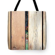 A Peek Through Wood Tote Bag