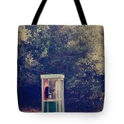 A Phone In A Booth? Tote Bag