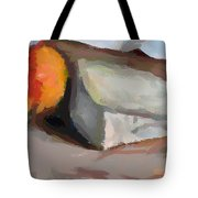 A Piece Of Goat Cheese Tote Bag