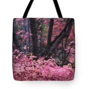 A Pink Autumn  Tote Bag