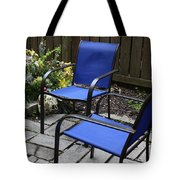 A Place For Conversation Tote Bag