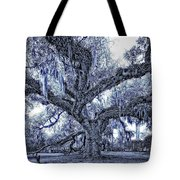 A Place For Dying Blue Tote Bag