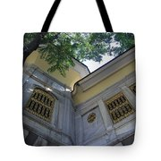 A Place To Watch The World Go By Tote Bag