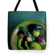 A Plate Of Vegetables Tote Bag