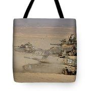 A Platoon Of Israel Defense Force Tote Bag