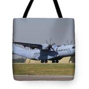 A Polish Air Force C-295m Taking Tote Bag