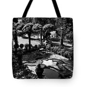 A Pond In An Ornamental Garden Tote Bag
