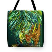 A Popping Pineapple Tote Bag