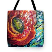 A Poppy Takes Center Stage Tote Bag