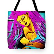 A Portrait Of A Mother's Love Tote Bag
