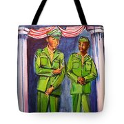 Daddy Soldier Tote Bag