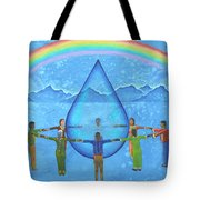 A Prayer For Water Tote Bag