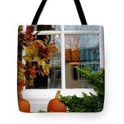 A Pretty Autumn Window Tote Bag