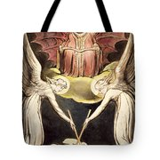 A Priest On Christ's Throne Tote Bag