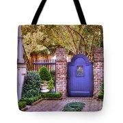 A Private Garden In Charleston Tote Bag
