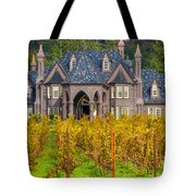 The Ledson Castle - Kenwood, California Tote Bag