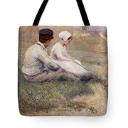 A Proposal In Picardy Tote Bag