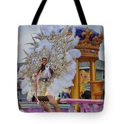 A Queen Of Carnival During Mardi Gras 2013 Tote Bag
