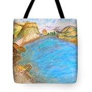 A Quiet Beach  Tote Bag