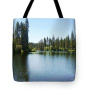 A Quiet Place - Bass Lake Tote Bag