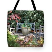 A Quiet Place To Meet Tote Bag