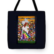 A Quilter's Dream Tote Bag by Aisha Lumumba