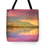 A Rainbow Morning Tote Bag
