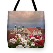 A Rainy Day In Prague 2 Tote Bag